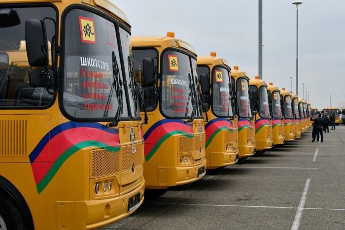 Школы Краснодарского края получили 126 новых автобусов