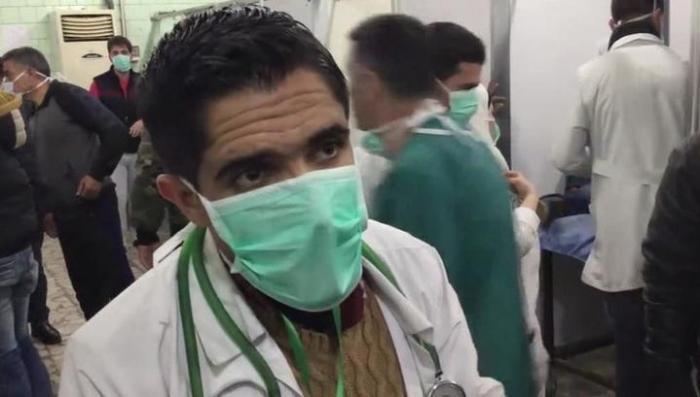 Химическая атака террористов в Сирии: репортаж из Алеппо