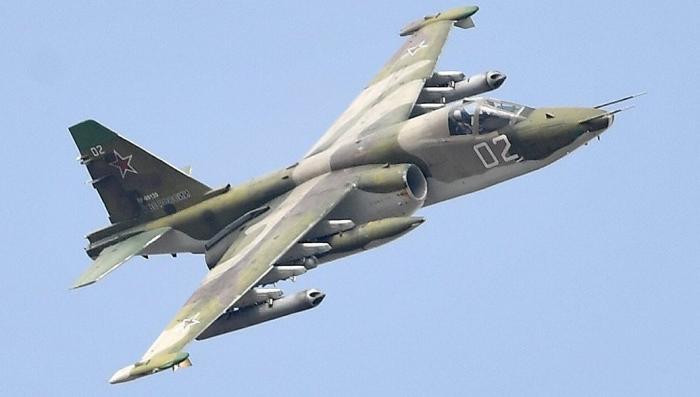Российские Су-25 патрулируют район Керченского пролива из-за провокации Украины