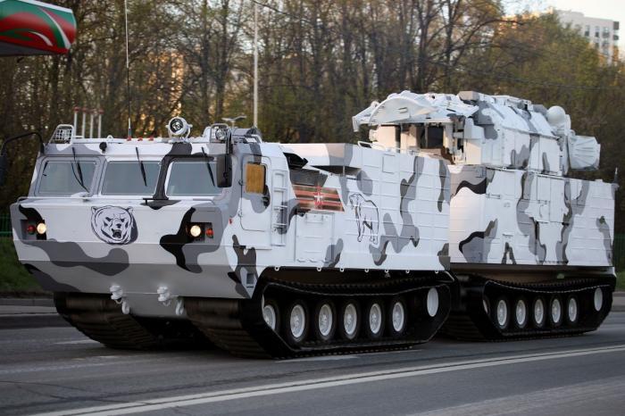 ЗРК Тор-М2ДТ первая партия арктических маши поступила навооружение