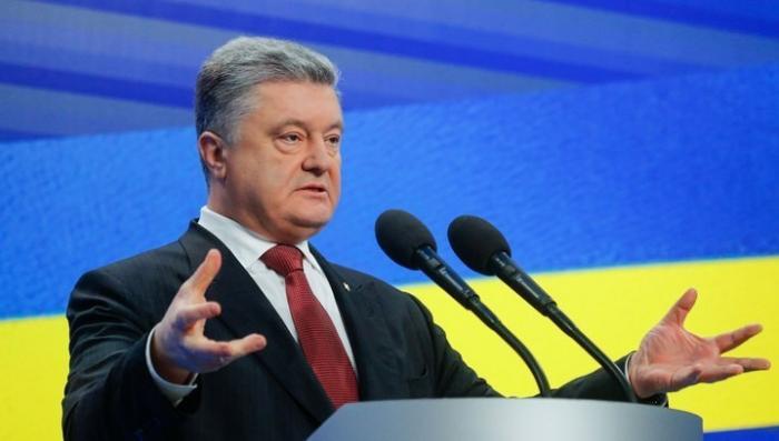 Порошенко ввёл военное положение на Украине