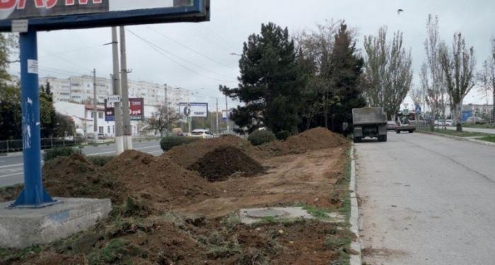 Севастополь под Новый год поражает чума благоустройства