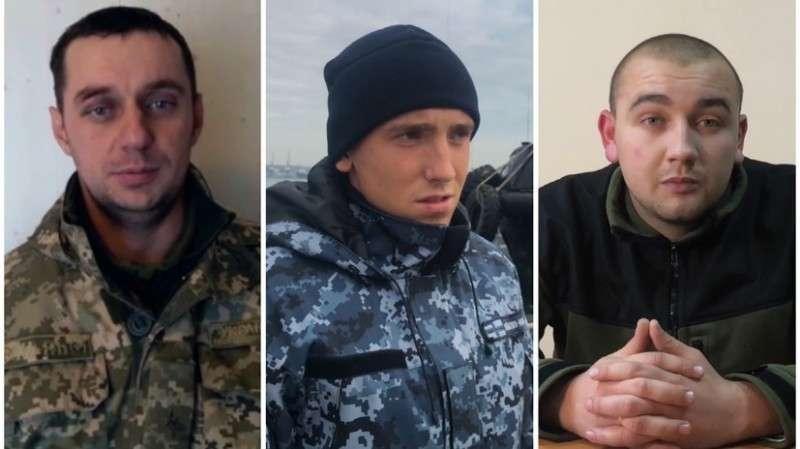 Видео опроса задержанных украинских моряков – участников провокации в Керченском проливе