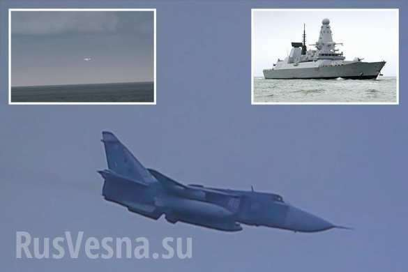 Британский шок: 17самолётов ВКС РФ «атаковали» новейший эсминец «Дункан», — Daily Star (+ФОТО, ВИДЕО) | Русская весна