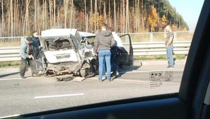 Жена главы полиции Подольска Анастасия Баландина скрутила номера, устроив смертельное ДТП
