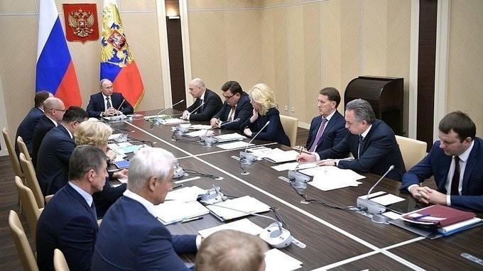 Владимир Путин провёл совещание о привлечении частных инвестиций в национальные проекты