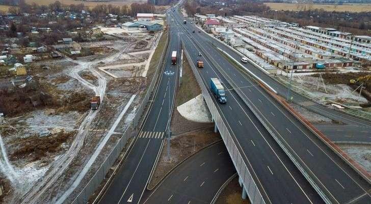 Новая транспортная развязка увеличила вдва раза пропускную способность М-5 «Урал» вРязани