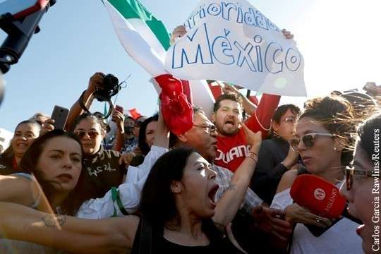 Дональд Трамп довел президента Мексики до национального позора