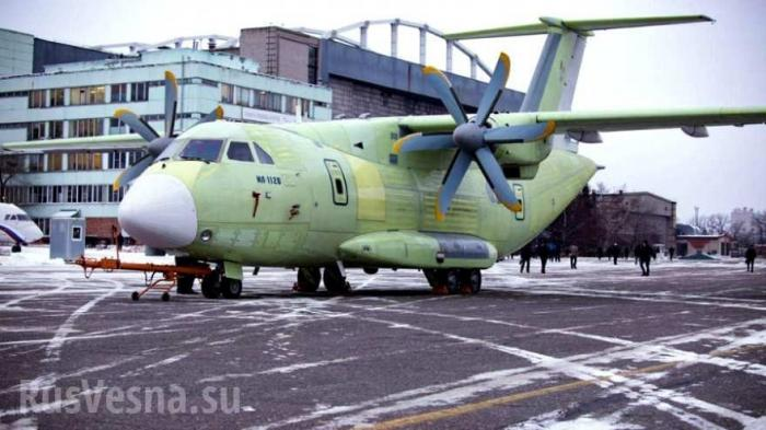 Военно-транспортный самолёт Ил-112В торжественно выкатили на лётные испытания