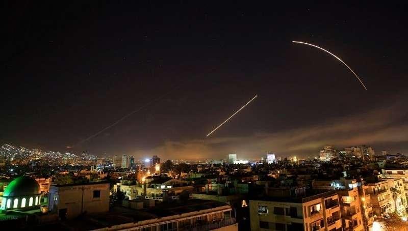 Ракетную атаку Израиля сорвали русская ПВО в Сирии