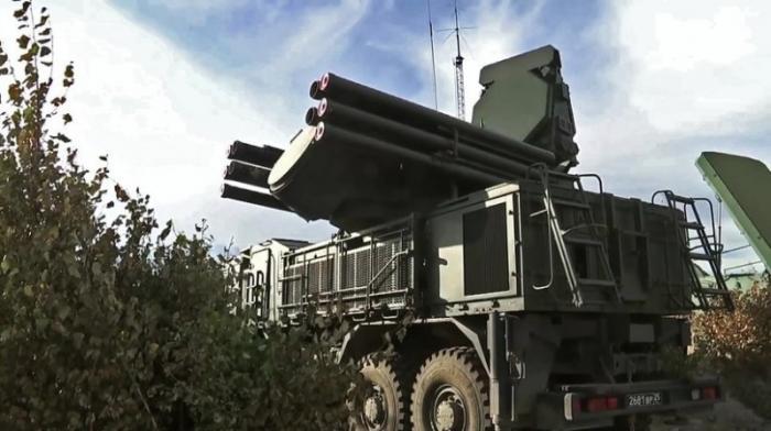 Крым. Система ПВО усилена дивизионом «Панцирь-С»