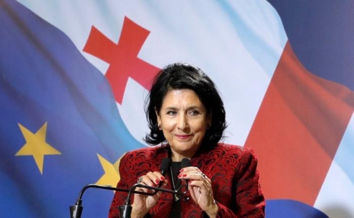 Саломе Зурабишвили – поведение клинической грузинской марионетки