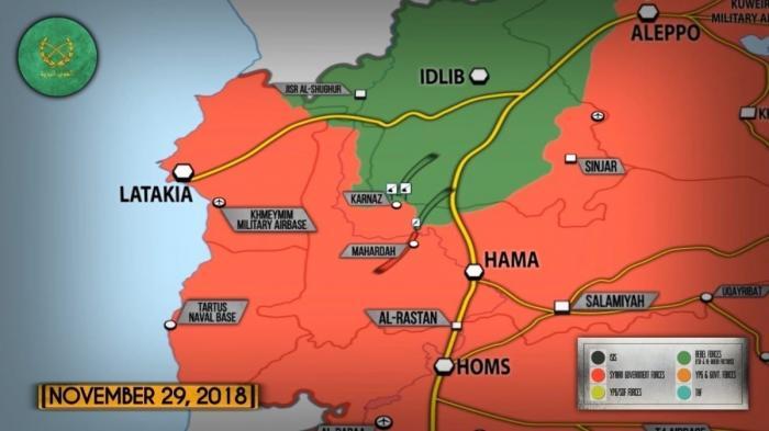 30 ноября 2018. Военная обстановка в Сирии. Россия заявила о 15 000 боевиках в Идлибе