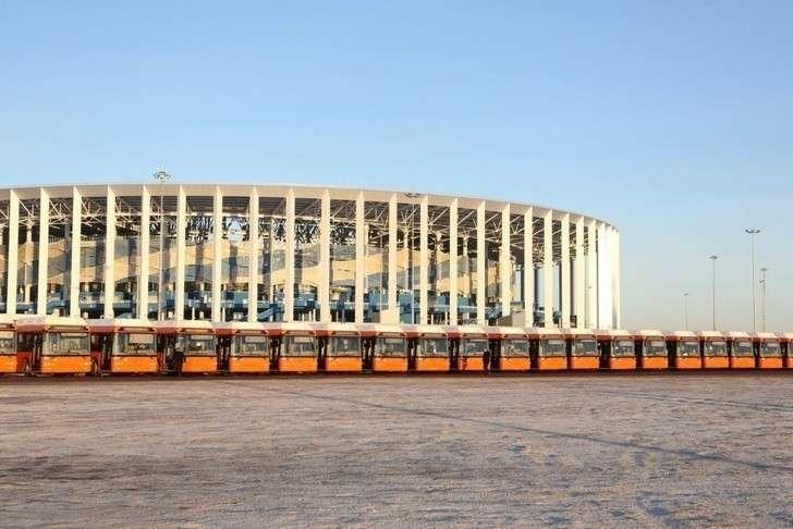 50 новых автобусов марки ЛИАЗ пополнили автопарк Нижнего Новгорода