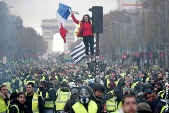 Майдан во Франции устроил смертельный враг Ротшильдов