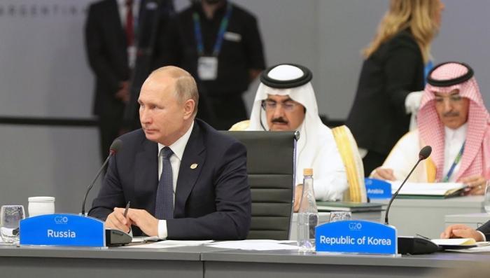 Владимир Путин прокомментировал итоговую декларацию саммита G20