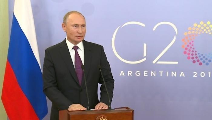 Владимир Путин рассказал о встрече с Трампом и военном положении на Украине