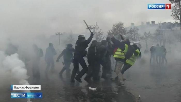 Протесты во Франции – типичная «цветная революция» в американском экспортном исполнении