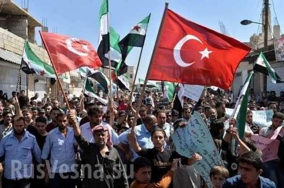 Захват севера Сирии Турцией начался | Русская весна