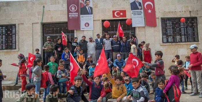 Захват севера Сирии Турцией начался