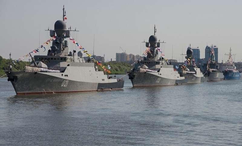 Каспийскую флотилию выводят на новый уровень
