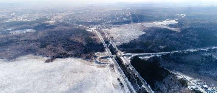 ВИркутской области открыли движение по6-километровому участку федеральной трассы Р-255 «Сибирь»