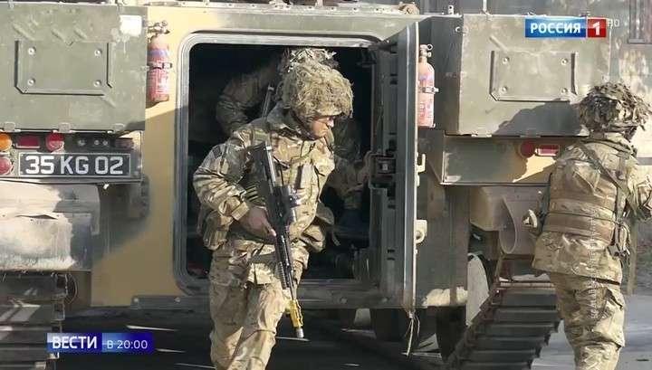 На Украине перед выборами президента высадился британский спецназ