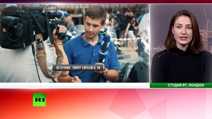 Новый виток русофобии: британская газета обвинила журналиста Первого канала в «шпионаже»