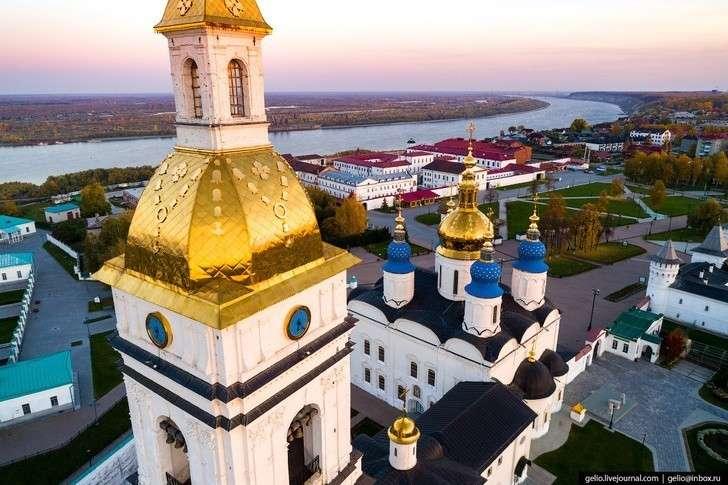 Тобольск свысоты: бывшая столица Сибири