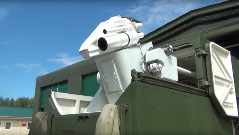 Боевые лазеры «Пересвет» заступили на опытно-боевое дежурство