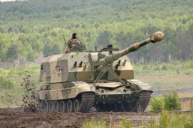 УралТрансМаш представил новую самоходную артиллерийскую установку