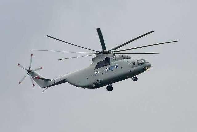 Ми-26Т2 завершил летные испытания для поставки наэкспорт