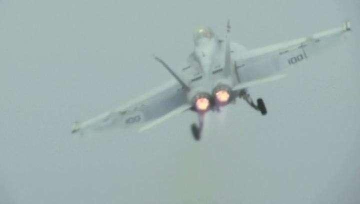 Япония. Столкнулись два военных самолёта США