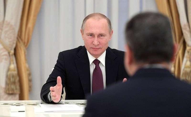 Петербург. Владимир Путин проводит заседание Высшего Евразийского экономического совета