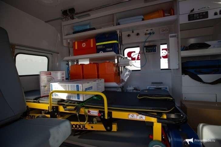 Медики Приморья получили 59 новых машин скорой помощи