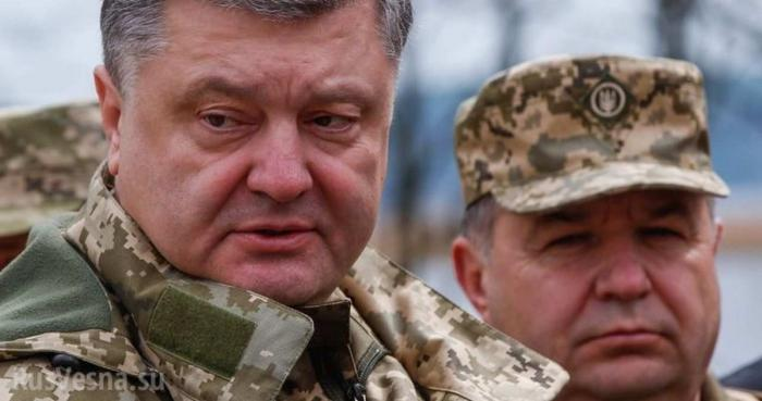 Порошенко готовится к настоящей войне на Донбассе: доказательства