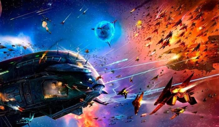 Хроника первой глобальной межгалактической войны между Светлыми и Тёмными силами