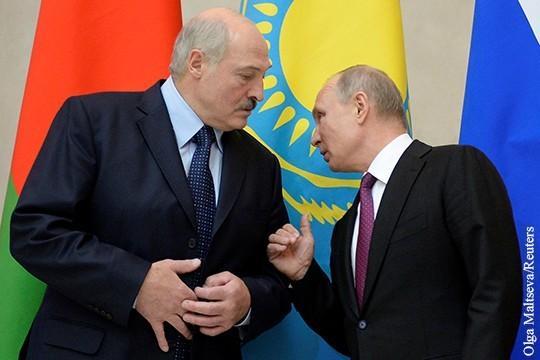 Что стоит за «очень бурным объяснением» Путина с Лукашенко