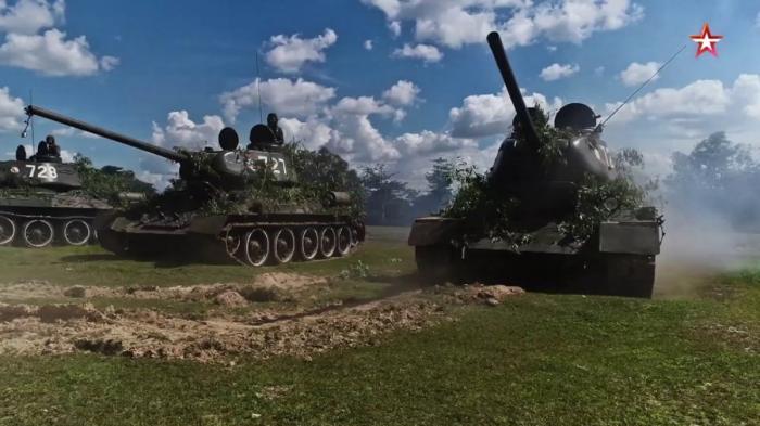 Легендарные танки Т-34 до сих пор на вооружении армии Лаоса