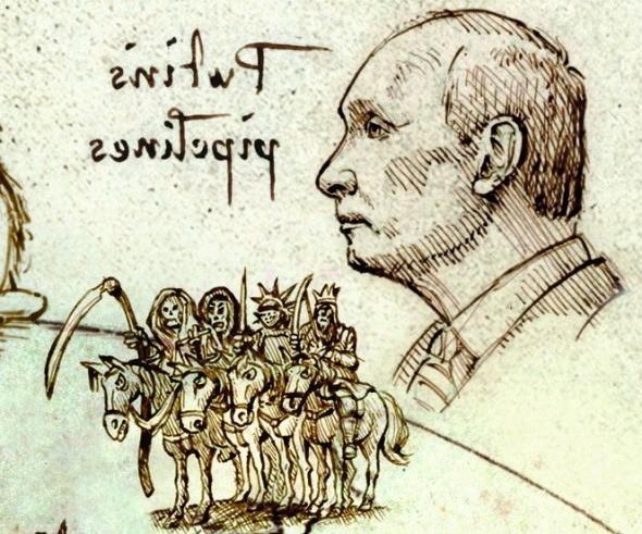 Прогноз The Economist 2019: Владимир Путин и «четыре всадника Апокалипсиса»