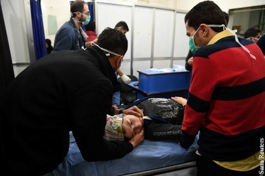 США обвиняет Россию в организации химической атаки в Алеппо
