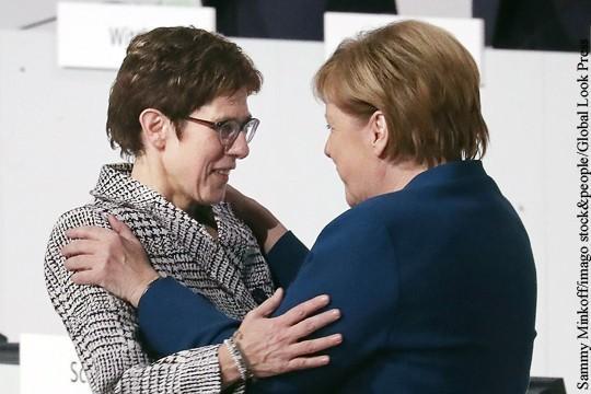 Преемница Меркель начала свою карьеру с нападок на Россию