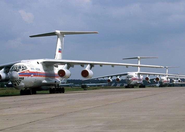 МЧС России впервые задействовало всю авиацию в ходе Всероссийской тренировки по ГО