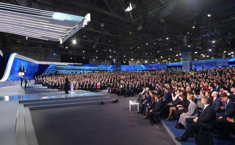 Выступление напленарном заседании XVIII съезда Всероссийской политической партии «Единая Россия».