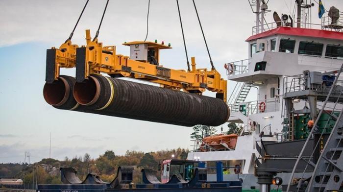Строительство «Северного потока – 2», состояние на декабрь 2018 года