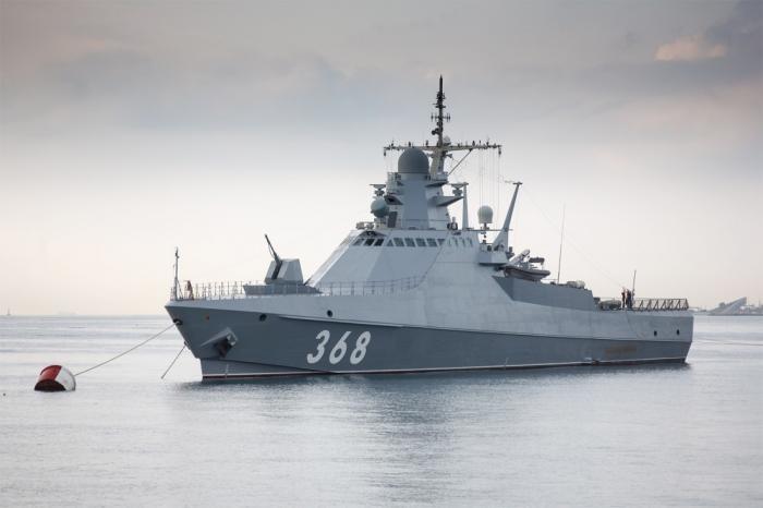 Черноморскому флоту передан новый патрульный корабль «Василий Быков»