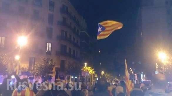 Европейское восстание теперь ивИспании — сепаратисты заблокировали центр Барселоны (ФОТО, ВИДЕО)   Русская весна