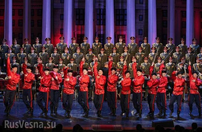 В Польше русофобы пытались сорвать концерт ансамбля русской армии