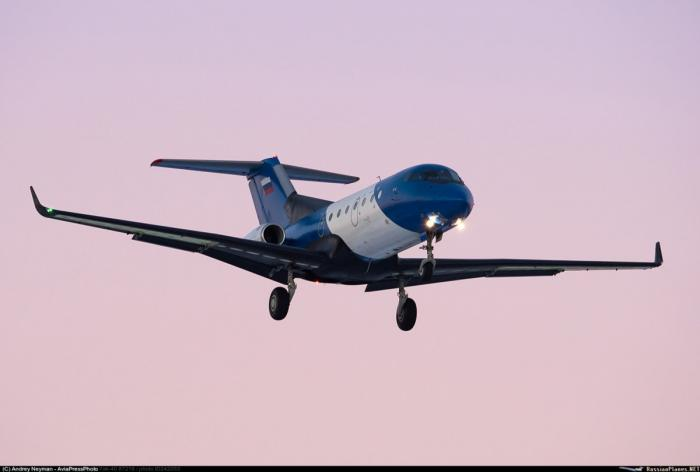 Испытание Як-40 скомпозитным крылом
