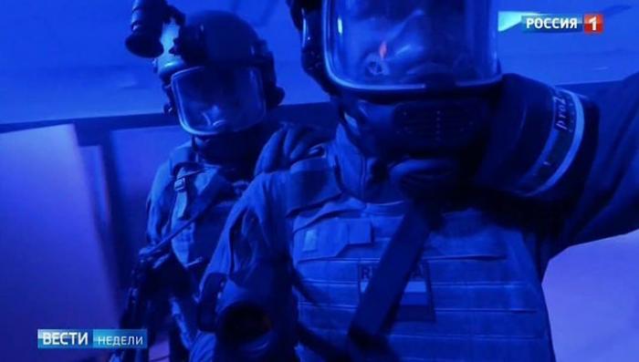 Уникальные кадры со спецназом Службы внешней разведки и интервью Сергея Нарышкина